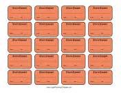 printable exhibit stickers law office forms