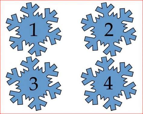 Printable Numbered Snowflakes | free printable snowflake numbers i ve got class pinterest