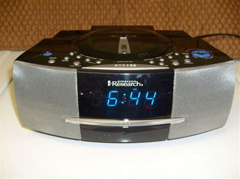 emerson research smart set cd player radio dual alarm clock model on popscreen