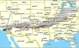 route 66 map route 66 highway map pictures to pin on pinsdaddy