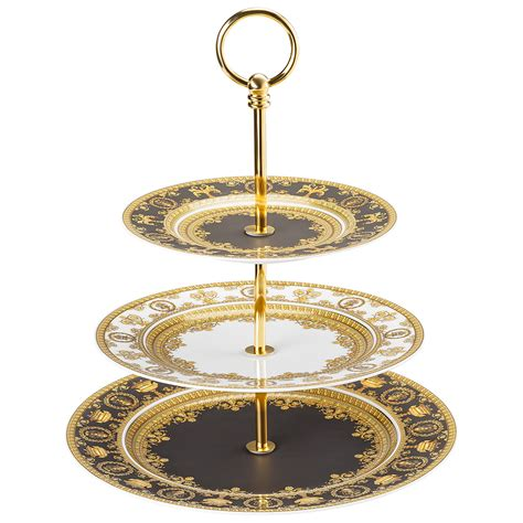 etagere rosenthal versace i baroque etagere 3 tiers rosenthal