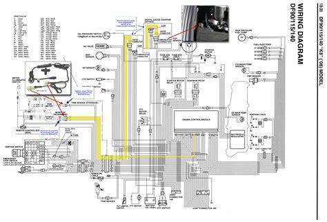 suzuki df140 tach wiring diagram suzuki df140 intake water