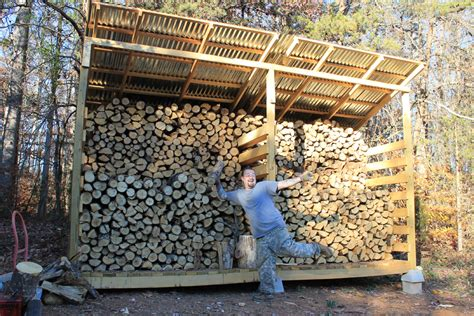 kaminholz aufbewahrung firewood storage why we built a woodshed new on a