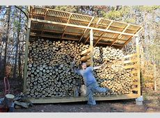 Firewood Storage: Why We Built A Woodshed • New Life On A ... Firewood Storage