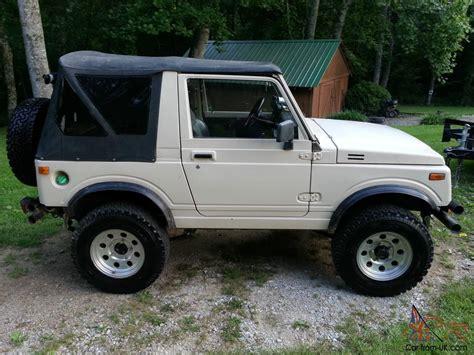 jeep suzuki 1988 suzuki samurai 1 9 turbo diesel jeep
