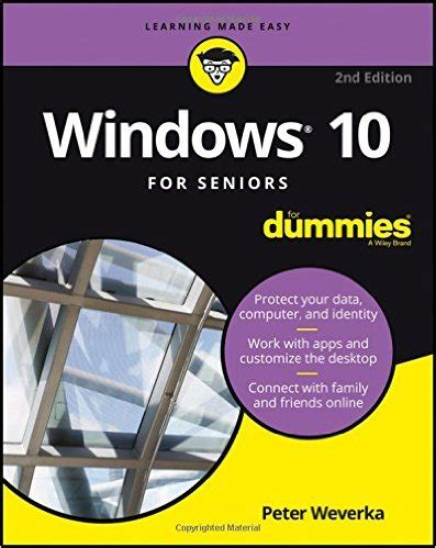 windows 10 for seniors books windows 10 for seniors 2nd edition pdf free it ebooks