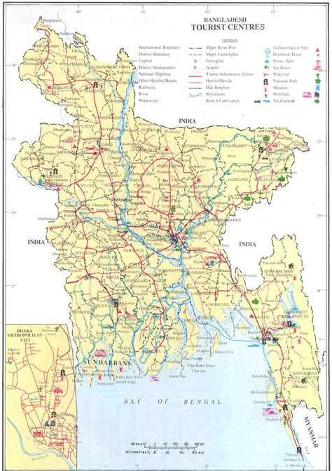 map of bangladesh bangladesh tourist center map bangladesh mappery