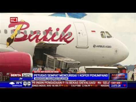 airasia vs citilink penumpang ancam bom pesawat batik air lintas petang