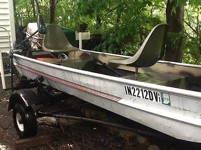 sears jon boat 12 boats for sale - Sears Gamefisher Flat Bottom Boat