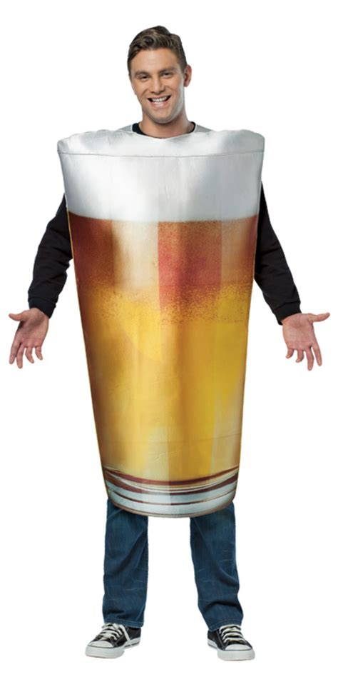 party themed costumes pint of beer funny fancy dress up alcohol halloween theme