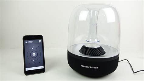 Speaker Harman Kardon harman kardon aura airplay speaker review demo