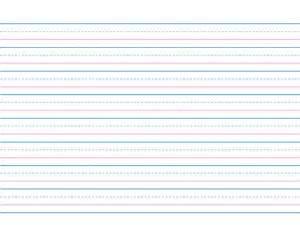 Lined Writing Paper For 2nd Grade Second Grade Ruled Paper Tinuturo Pa Ba Sa Mga