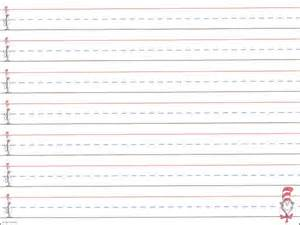 Lined Paper For Writing Practice Hat To Feet Handwriting Practice Paper 032473 Images