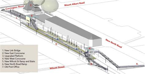 mount comfort transfer station guest post the new mt albert station greater auckland