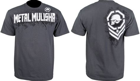 Kaos Aesthetics Fightmerch metal mulisha fight gear collection