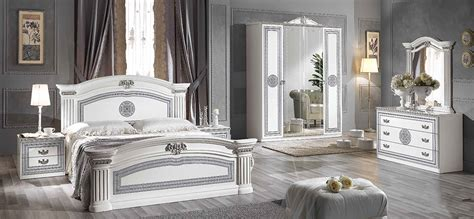 white and silver bedroom ideas