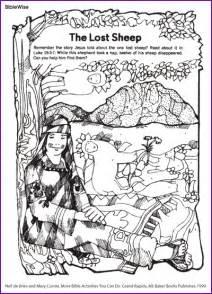 Find the lost sheep jesus kids korner biblewise