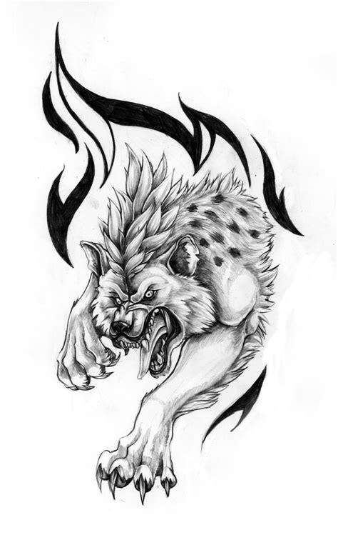 14 Awesome Hyena Tattoo Designs