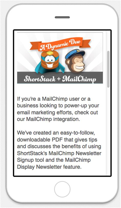 mailchimp mobile templates 5 tips to make marketing mobile friendly social