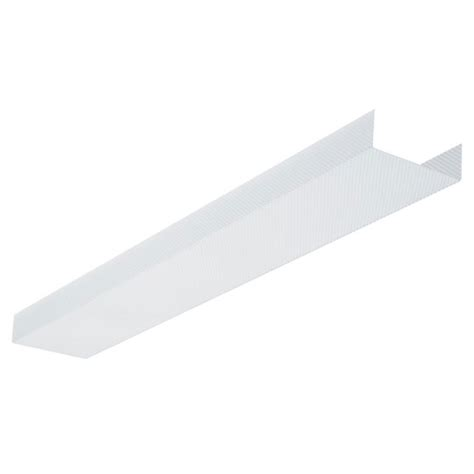 Fluorescent Light Fixture Covers Replacement Fluorescent Light Fixture Lens Cover 24 Quot Ceiling Fluorescent Wrap Around Light Fixture