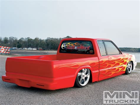 mazda mini 1992 mazda b2200 custom mazda trucks mini truckin