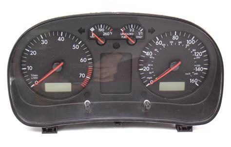 repair voice data communications 2000 volkswagen golf user handbook gauge cluster speedometer 1999 99 vw jetta golf mk4 1j0 919 951 b ebay