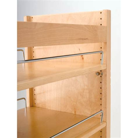 rev a shelf wood pull out pantry with adjustable