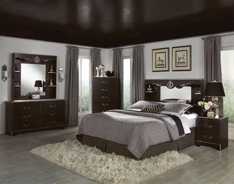 gray walls brown furniture bedroom paint color