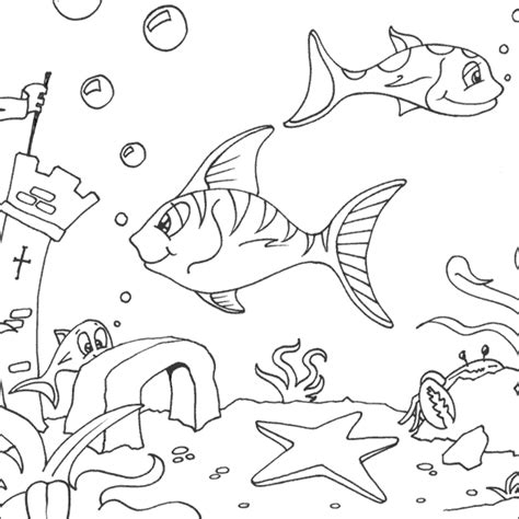 free coloring pages of the great barrier reef