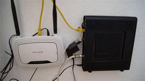 Router Kabel tp link wlan router hinter kabel deutschland router
