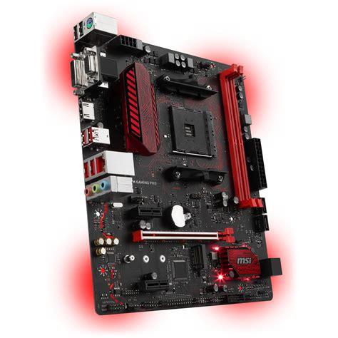 Best Buy Msi B350m Pro Vdh Socket Am4 Ddr4 1 msi b350m gaming pro am4 matx motherboard b350m gaming pro b h