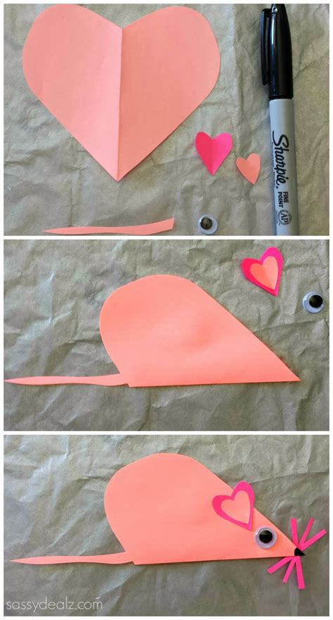 day paper crafts list of easy s day crafts for crafty morning