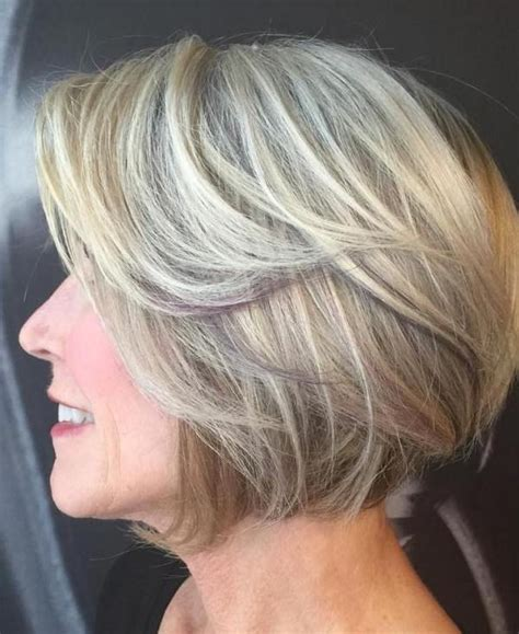 short stacked bobs for 50 year old women 80 classy and simple short hairstyles for women over 50