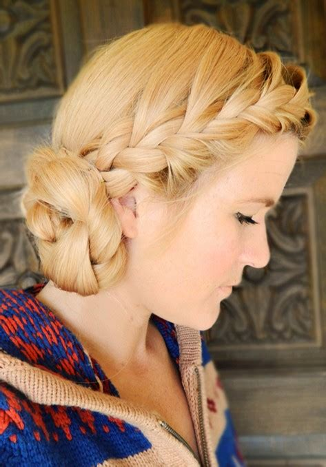 braided hairstyles with side bun 15 braided updo hairstyles tutorials pretty designs