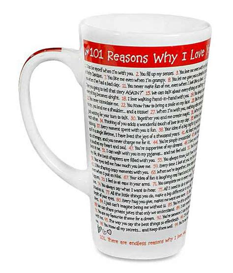 101 Reasons Why I You In India Archies 101 Reasons Why I You Mug Buy Archies 101