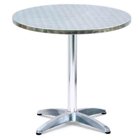 tavolo bar tavolo rotondo in alluminio modello bar 216 70xh75 cm peso