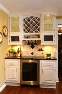 Beverage Bar Design Beverage Station Traditional Kitchen Kansas City