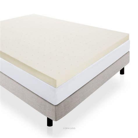 4 Inch Memory Foam Mattress Topper Best Memory Foam Mattress Topper Reviews