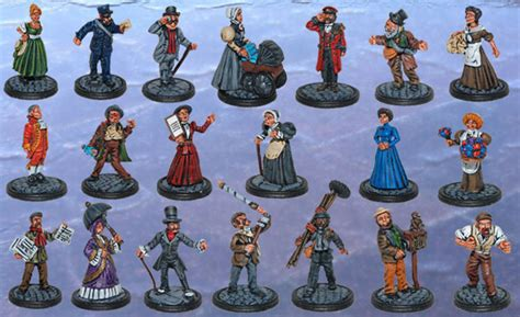 Toff And The Blue Sea miniatures