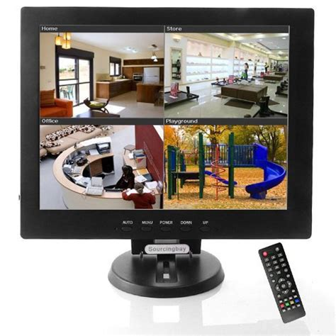 sourcingbay 12 inch cctv tft lcd monitor vga av hdmi tv