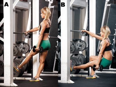 25 best ideas about smith machine workout on
