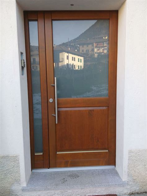 ingresso in legno portoncini e porte d ingresso falegnameria eccher