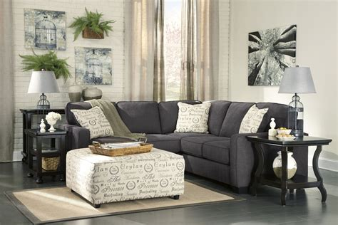 alenya sofa and loveseat alenya charcoal laf sectional from ashley coleman furniture