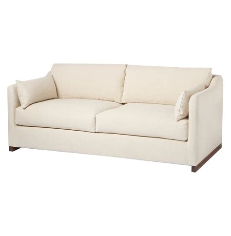 feather down sectional cisco brothers dexter wide classic natural feather down