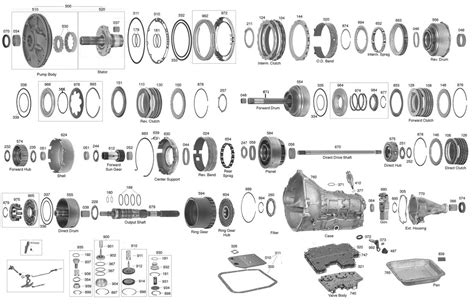 auto transmission diagram 2004r parts diagram pictures to pin on pinsdaddy