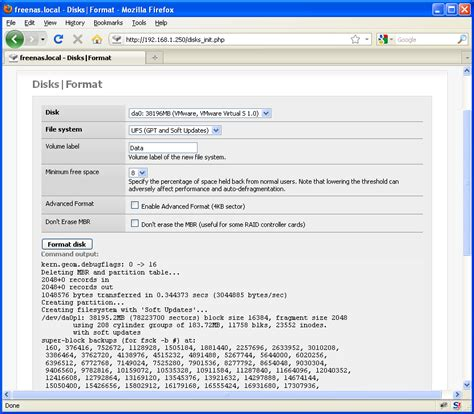 gpt format freenas สร าง storage server ง ายๆ ด วย freenas spalinux com ส