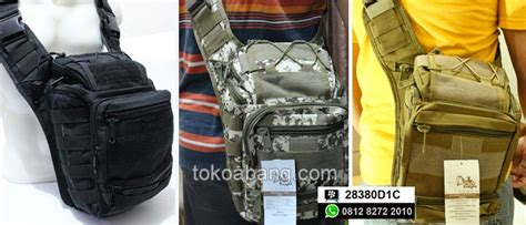 Tas Selempang Tactical Army Outdoor 803 tas selempang import toko abang tactical