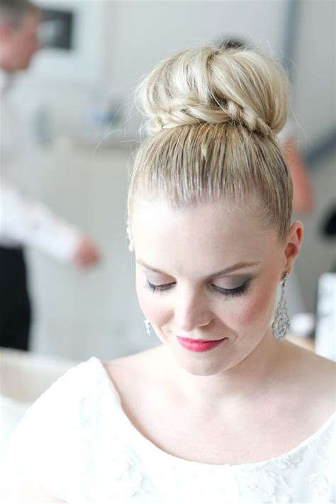 Wedding Hairstyles Plaits Bun by Wedding Hair With Plaits And Braids For A Thick Hair