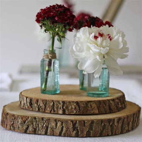 wedding table tree centerpieces uk tree slice rustic wedding centrepiece buy the wedding of my dreams