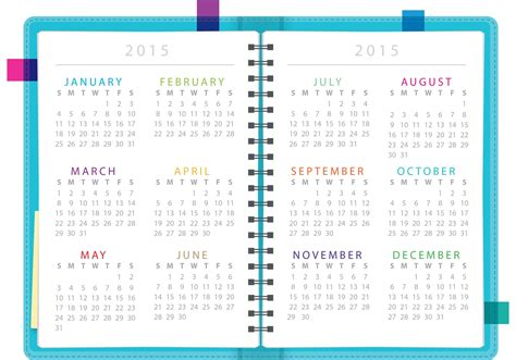 daily planner template vector daily planner notebook vector download free vector art